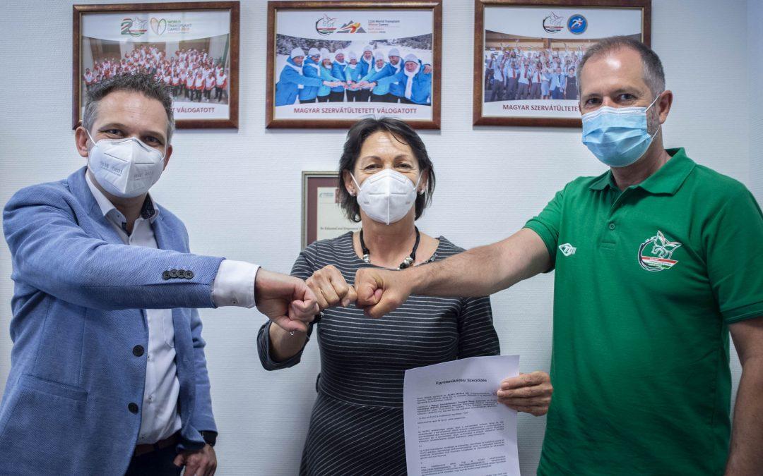 Együttműködési megállapodás a Magyar Szervátültetettek Szövetsége és az ALSAD Medical között